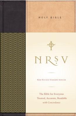 NRSV, Standard Bible, Hardcover, Tan/Black