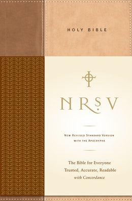 NRSV, Standard Bible with Apocrypha, Hardcover, Tan/Brown