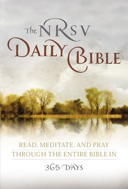 NRSV, The Daily Bible, Paperback
