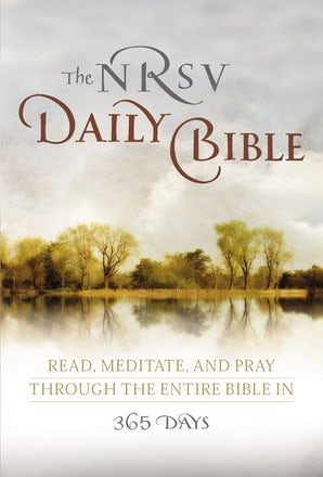 NRSV, The Daily Bible, Paperback book image