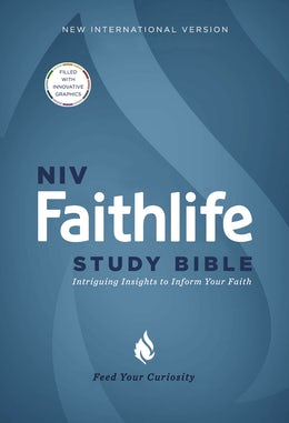 NIV, Faithlife Study Bible, Hardcover
