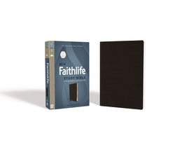 NIV, Faithlife Study Bible, Bonded Leather, Black