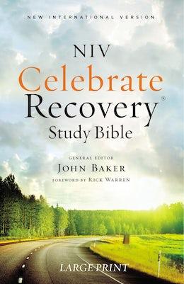 NIV, Celebrate Recovery Study Bible, Large Print, Paperback