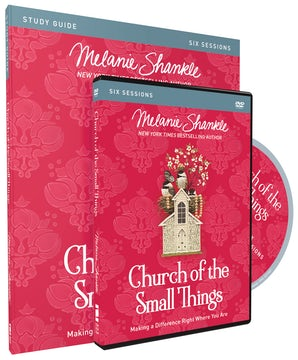 Church of the Small Things Study Guide with DVD book image