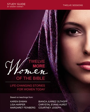 Twelve More Women of the Bible Study Guide book image