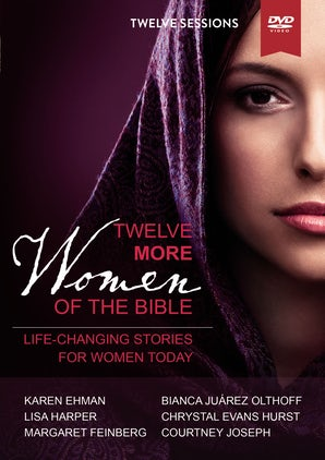 Twelve More Women of the Bible Video Study book image