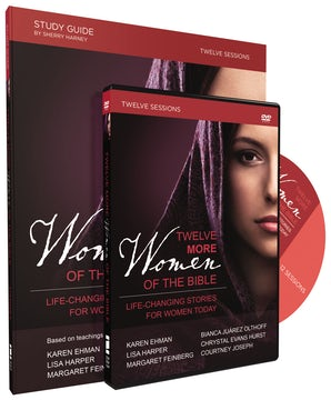 Twelve More Women of the Bible Study Guide with DVD book image