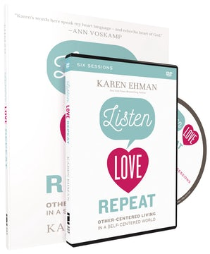 Listen, Love, Repeat Study Guide with DVD book image