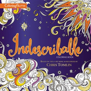 Indescribable Adult Coloring Book book image