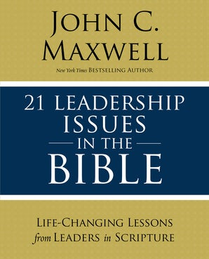 21 Leadership Issues in the Bible book image
