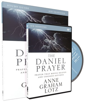 The Daniel Prayer Study Guide with DVD book image