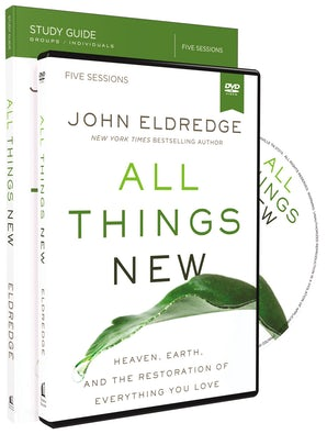 All Things New Study Guide with DVD book image