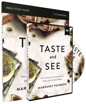Taste and See Study Guide with DVD book image