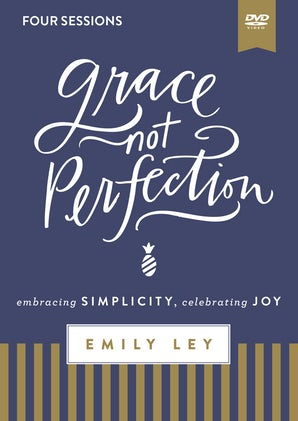 Grace, Not Perfection Video Study book image