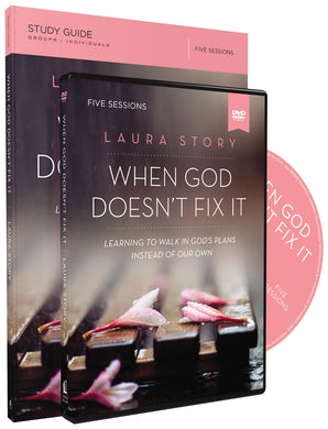 When God Doesn't Fix It Study Guide with DVD book image