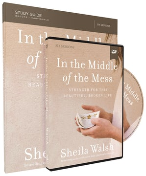 In the Middle of the Mess Study Guide with DVD book image