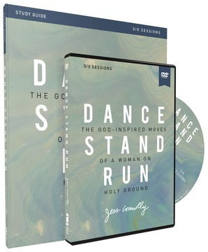 Dance, Stand, Run Study Guide with DVD book image