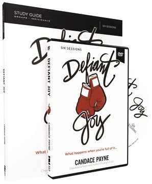 Defiant Joy Study Guide with DVD book image