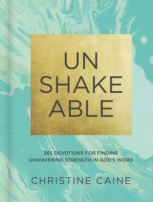Unshakeable book image