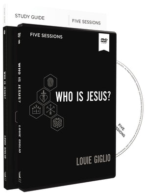 Who Is Jesus? Study Guide and DVD book image