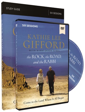 The Rock, the Road, and the Rabbi Study Guide with DVD book image