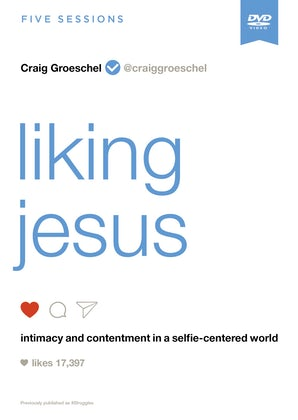 Liking Jesus Video Study book image