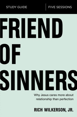 Friend of Sinners Study Guide book image