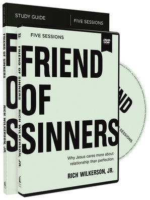 Friend of Sinners Study Guide with DVD book image