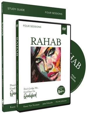 Rahab with DVD book image