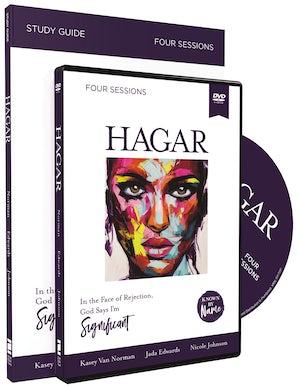 Hagar with DVD book image
