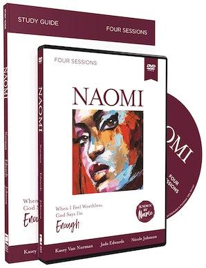 Naomi with DVD book image