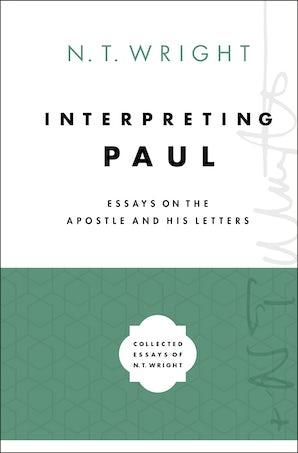 Interpreting Paul book image