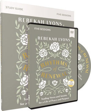 Rhythms of Renewal Study Guide with DVD book image
