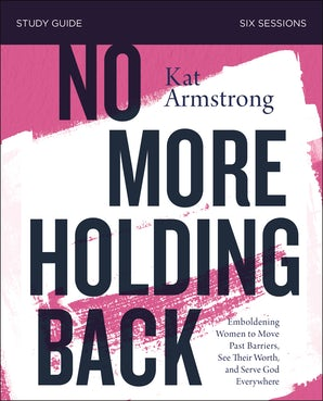 No More Holding Back Study Guide book image