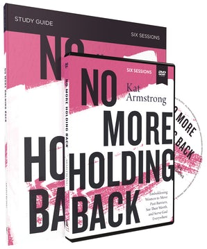 No More Holding Back Study Guide with DVD book image