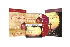 The Case for Christmas/The Case for Easter Study Guides with DVD book image