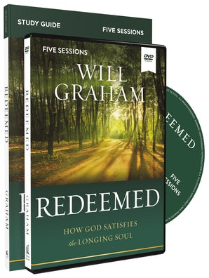 Redeemed Study Guide with DVD book image
