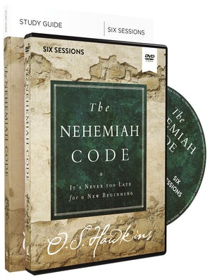 The Nehemiah Code Study Guide with DVD book image
