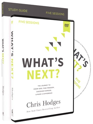 What's Next? Study Guide with DVD book image