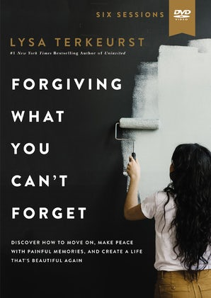 Forgiving What You Can't Forget Video Study book image