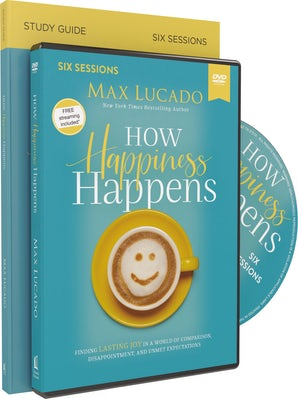 How Happiness Happens Study Guide with DVD book image