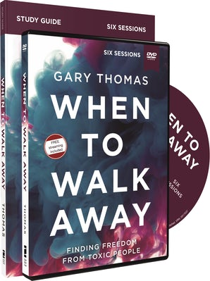 When to Walk Away Study Guide with DVD book image