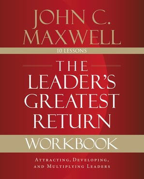 The Leader's Greatest Return Workbook book image