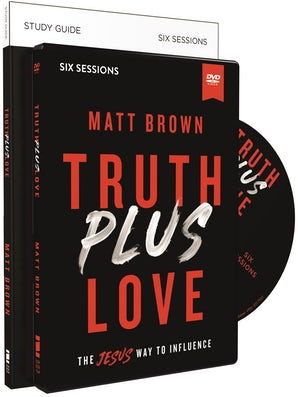Truth Plus Love Study Guide with DVD book image