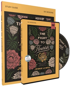 The Fight to Flourish Study Guide with DVD book image