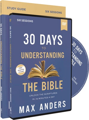 30 Days to Understanding the Bible Study Guide with DVD book image