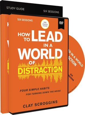 How to Lead in a World of Distraction Study Guide with DVD book image