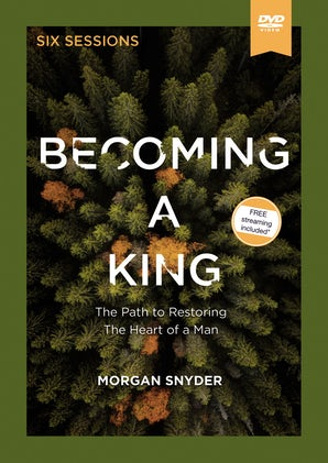 Becoming a King Video Study book image