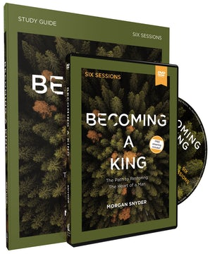Becoming a King Study Guide with DVD book image