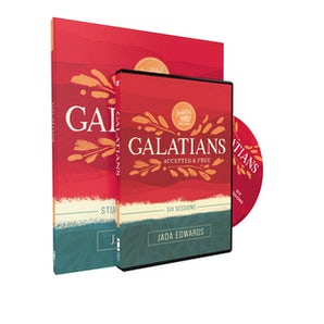 Galatians Study Guide with DVD book image